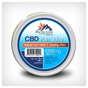 Hemp Derived CBD Pain Salve 1000mg