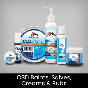 CBD Balms, Salves, Creams, and Rub