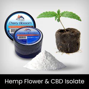 Hemp Flower & CBD Isolate