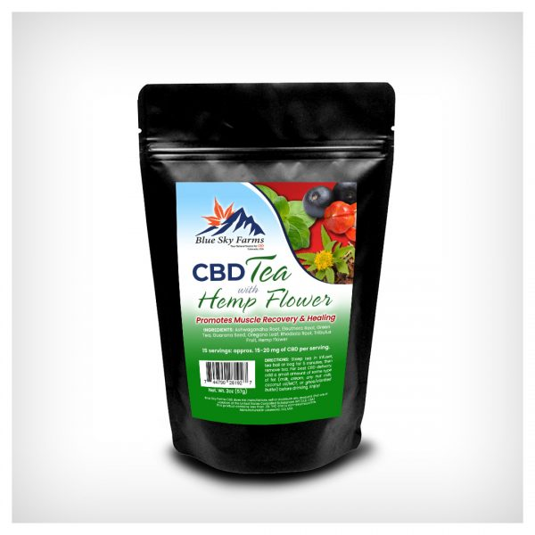 Muscle Recovery & Healing CBD Herbal Tea