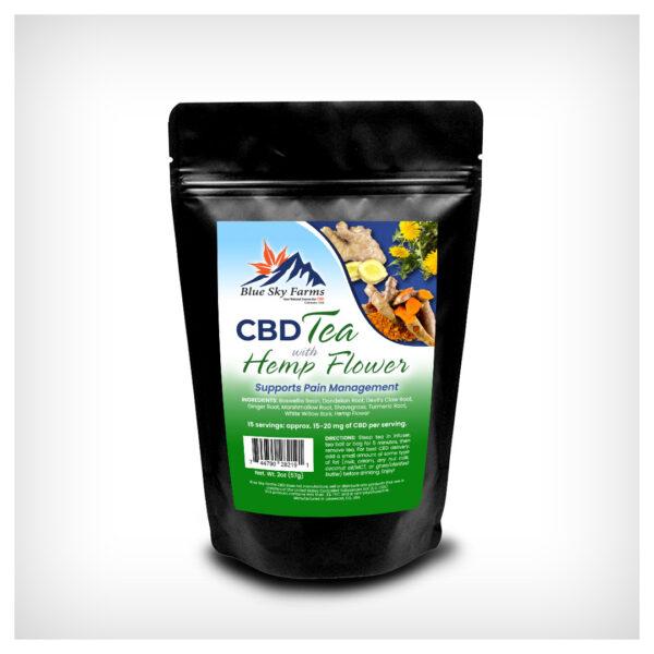 Pain Management CBD Herbal Tea