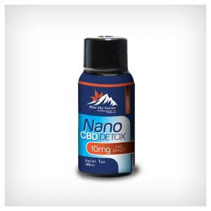 Hemp Derived CBD Nano Shot Detox 1 oz 10mg