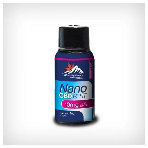 Hemp Derived CBD Nano Shot Rest 1 oz 10mg