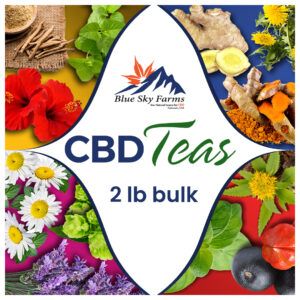 CBD Herbal Tea ~ 2 lb. BULK