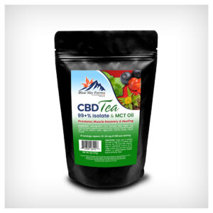 Muscle Recovery & Healing CBD Isolate Tea