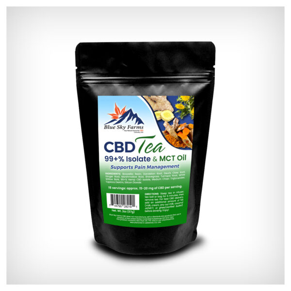 Pain Management CBD Isolate Tea