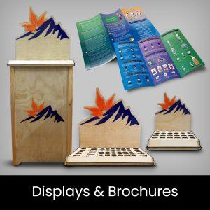 Displays & Brochures