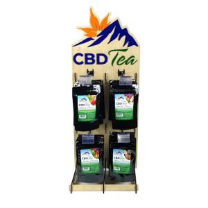 CBD Herbal Tea Display Kit a