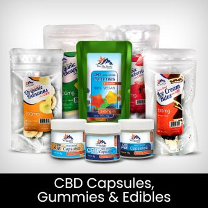 CBD Capsules, Gummies, and Edibles