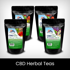 CBD Herbal Teas & Raw Honey