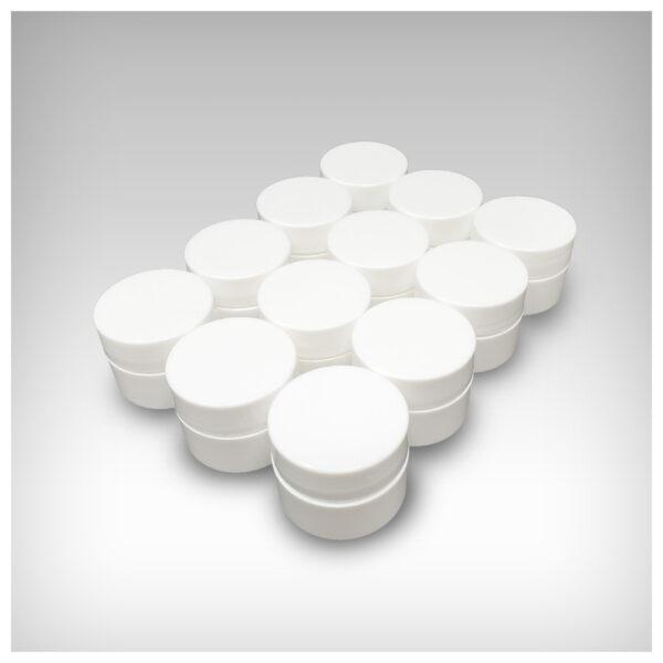 Hemp Derived CBD Lip Balm ~ 12 White Label 1/4 oz containers