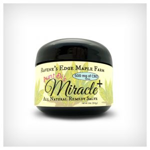 Aunt Di's Miracle Salve w/ 500mg CBD – 2oz.