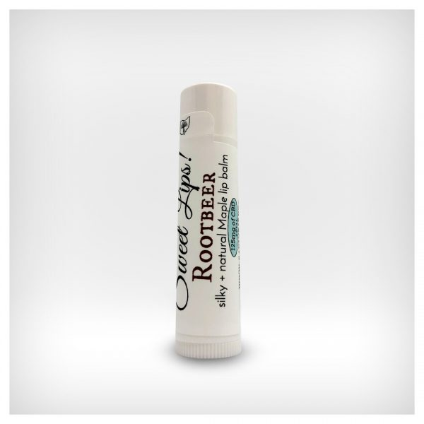 Sweet Lips! ~ 125mg CBD Maple Lip Balms ~ Rootbeer