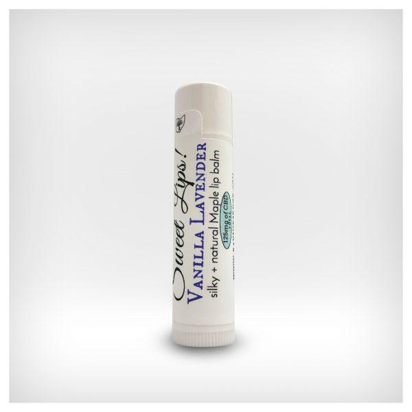Sweet Lips! ~ 125mg CBD Maple Lip Balms ~ Lavender Vanilla