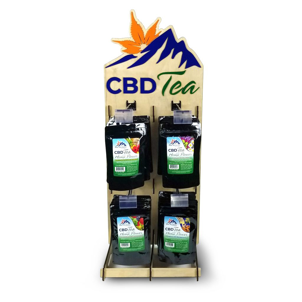 CBD Herbal Tea Display Kit